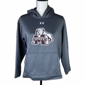 UNDER ARMOUR Mississippi State Gray hoodie